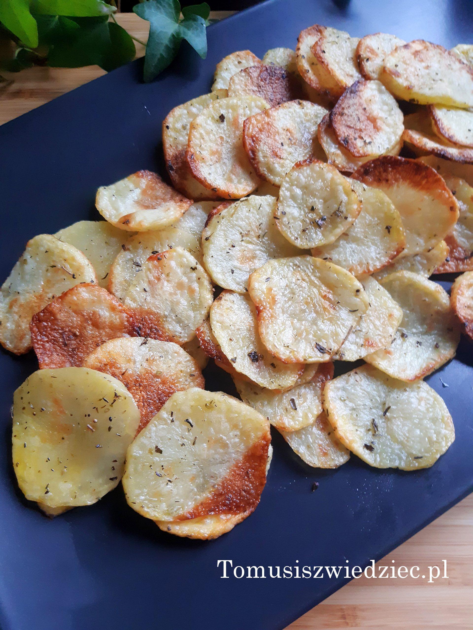 chipsy z ziemniaków