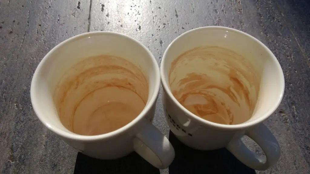 jak usunąć osad po kawie i herbacie