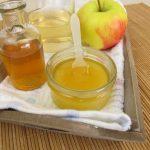 napój z octu jabłkowego i miodu