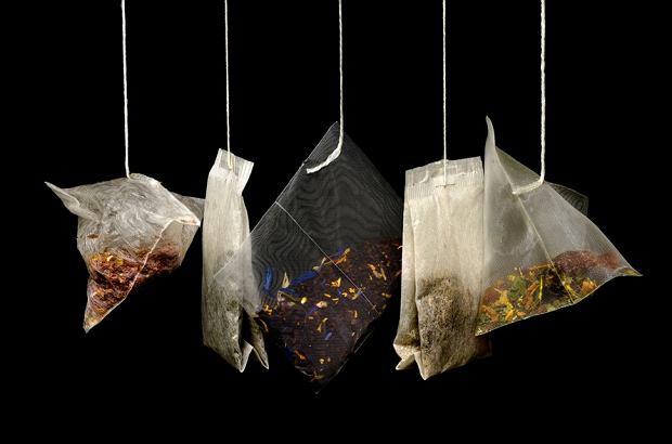 nietypowe zastosowanie torebki po herbacie